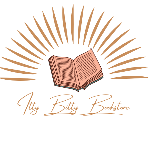 Itty Bitty Bookstore logo, used with permission from Dominique Lenaye Johnson