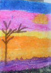 photo of students art used with permission by Rita Yanny.