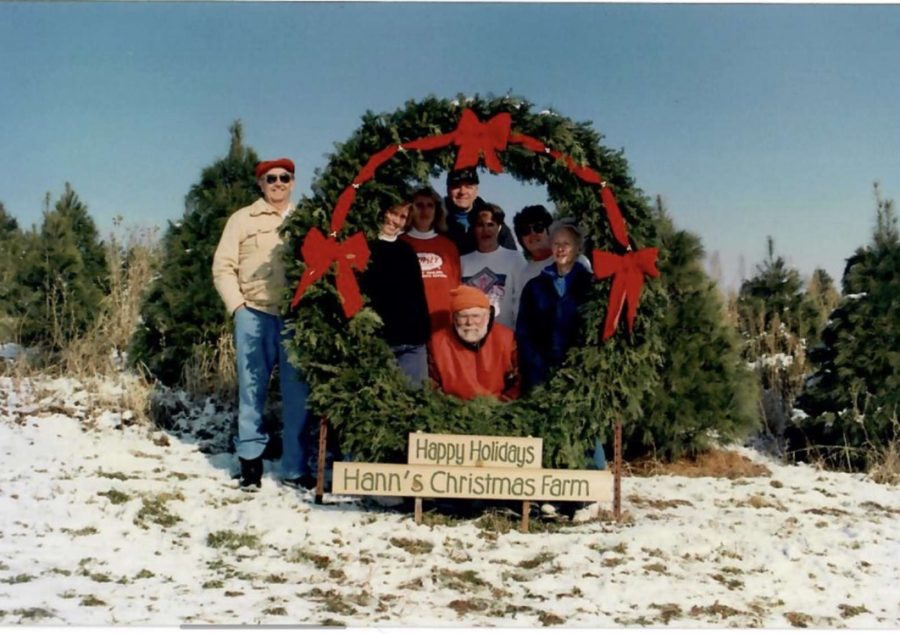 Hann%27s+Christmas+Tree+Farm%27s+first+year+with+a+Christmas+Shop+in+1992.+