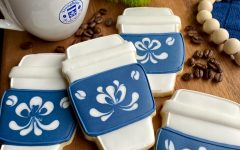 Sugar cookies inspired by the Stoughton Coffee Break Festival logo